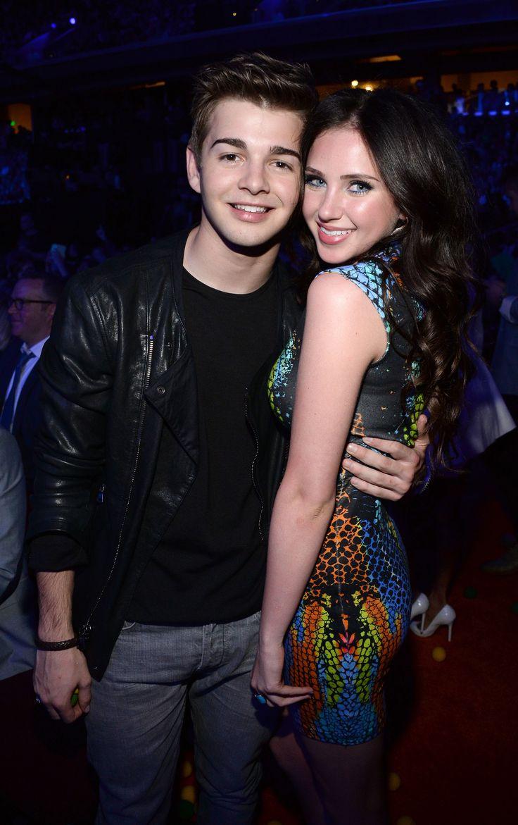 Jack Griffo and girlfriend Ryan Newman.
