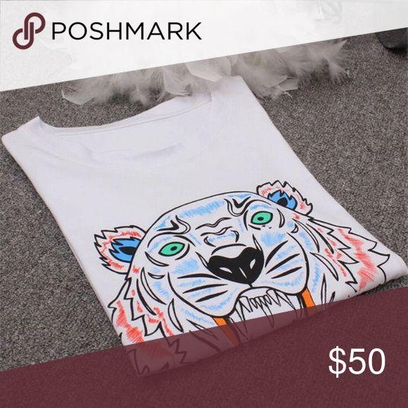 Tiger shirt 💙 Tiger shirt Kenzo Tops