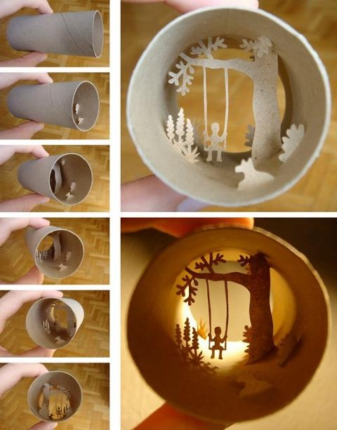 Awesome! http://www.facebook.com/anastassia.eliasToilets Paper Tube, Toilet Paper Rolls, Toilets Paper Rolls, The Artists, Toilets Rolls Art, Paper Rolls Art, Cut Paper, Cardboard Tube, Paper Crafts