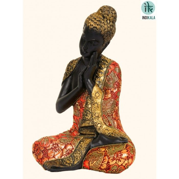 Name : Resting Buddha Price : Rs 2,499 Buy Now at : http://www.indikala.com/featured-products/resting-buddha.html   #Buddha #Figurines #BuyOnline