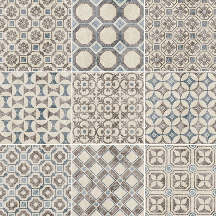 Decorative Porcelain Tile Alluring 120 Best Decorative & Pattern Images On Pinterest  Tile Floor Design Ideas