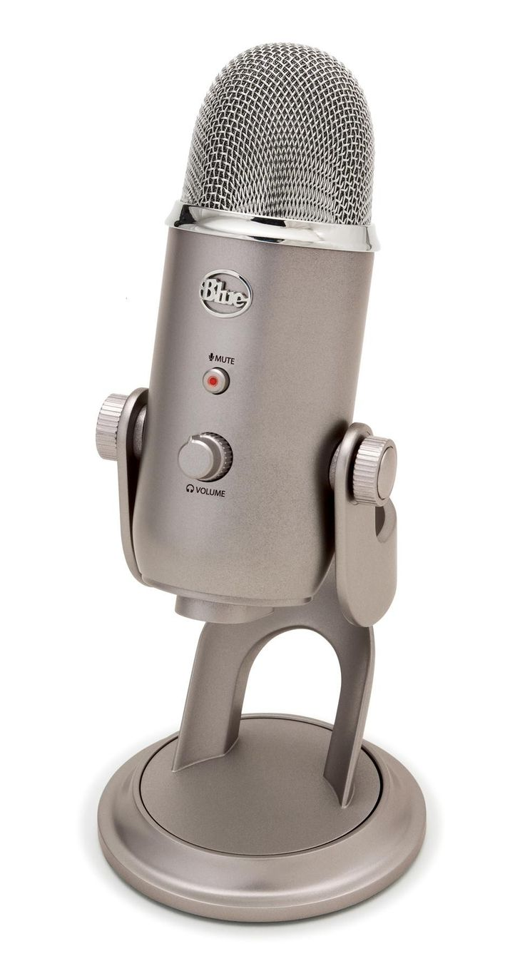 Blue Microphones Yeti USB - Platinum #WRGamers #Blue Microphones