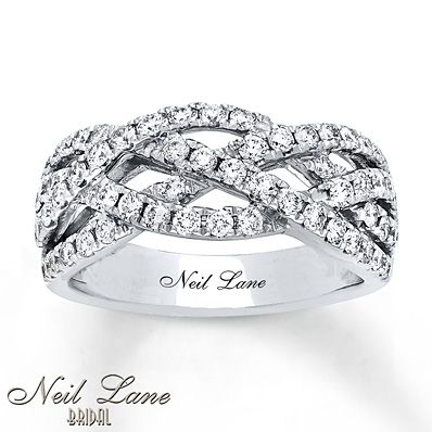 Neil Lane Bridal Ring 1 ct tw Diamonds 14K White Gold