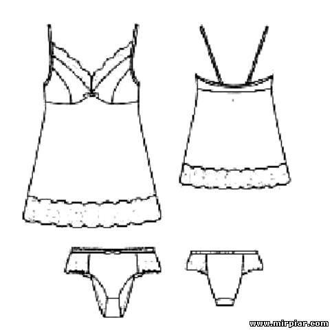 белье, выкройки белья,комбинация и трусы слипы, free pattern, готовые выкройки скачать, выкройки бесплатно,скачать, шитье, рукоделие, комбинация