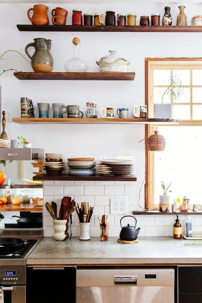 1000 id es propos de rangement mural de cuisine sur pinterest murs de la - Rangement mural cuisine ...