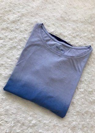 Kup mój przedmiot na #vintedpl http://www.vinted.pl/damska-odziez/bluzki-z-3-slash-4-rekawami/17482182-piekna-bluzeczka-ombre-by-tchibo-rozmiar-l