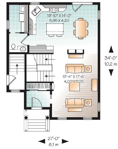 8 best images about in law design on pinterest for In law house designs