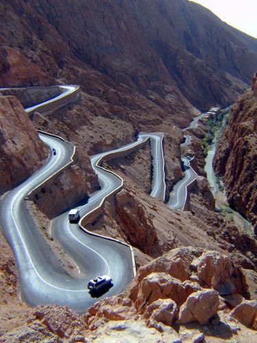 Tichka road (a 66 Road moroccan kind) this would be a blast to drive!