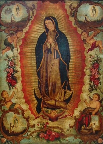 268 best guadalupe images on pinterest virgin mary arte for Our lady of guadalupe arts and crafts