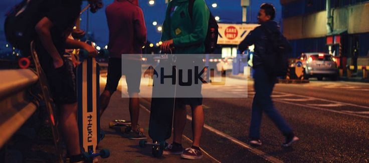 Custom longboards and balance boards at www.hukuboards.com