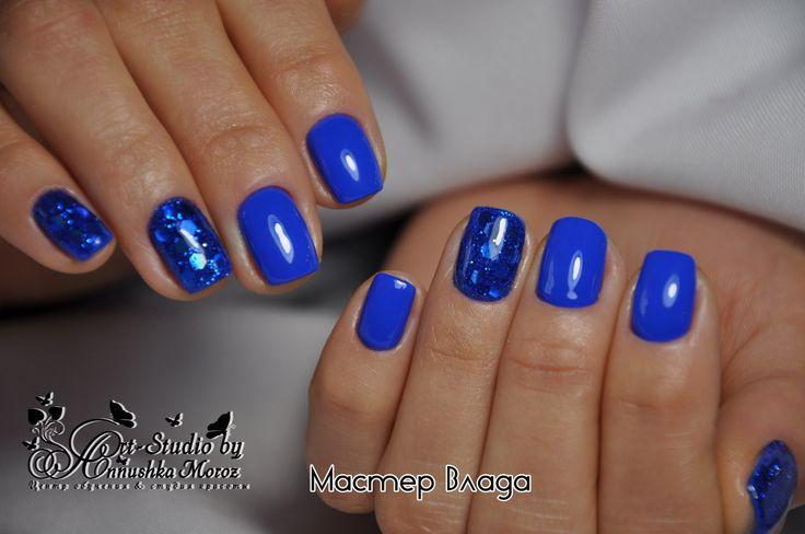 синие ногти, синий маникюр, новинки маникюра фото, красивый маникюр фото, маникюр фото, идеи дизайна ногтей, ноготочки