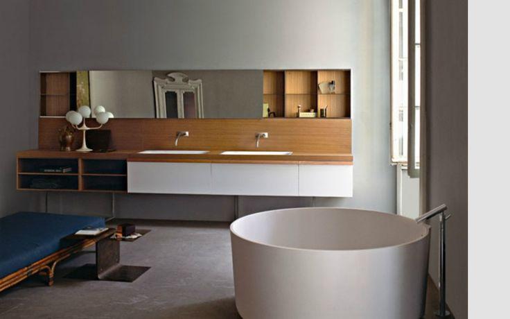 Italiaanse Badkamer Accessoires : Badkamer hout design consenza for