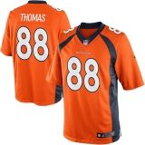 D Thomas Jersey #88 Denver Broncos 2013-2014 Football Schedule