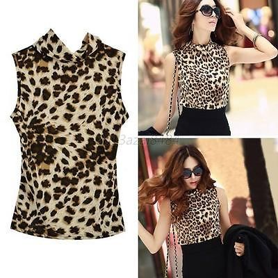 Fashion-Women-Slim-Leopard-Summer-Vest-Tops-Sleeveless-Blouse-Casual-Top-T-Shirt