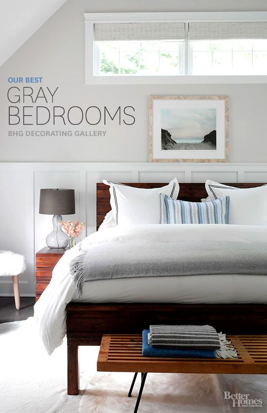 The Best Decorating Inspiration For Gray Bedrooms From