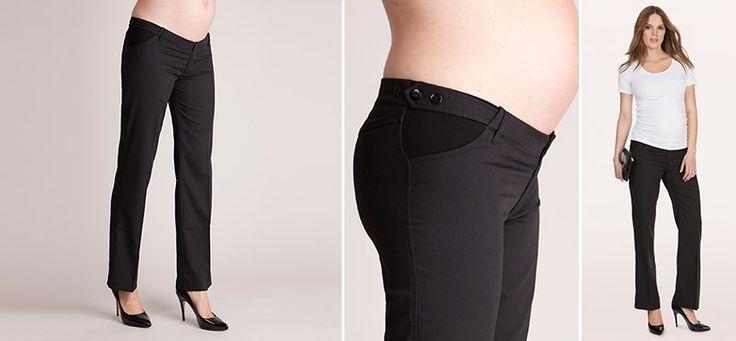 Nadine Straight Leg Hose aus der Kategorie Business Looks von Mamarella - Details