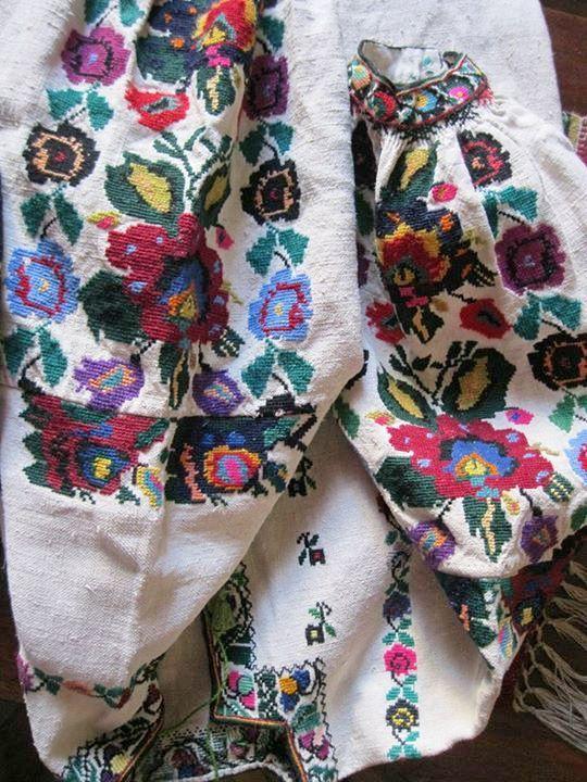 Ukrainian embroidery. Українська вишивка. Украинская вышивка.