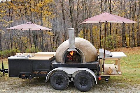 bread oven mobile | Pizza Oven Photo Vermont Portable Oven