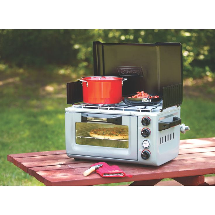 I don't bake a ton while camping but this would be nice to cook and warm up stuff!