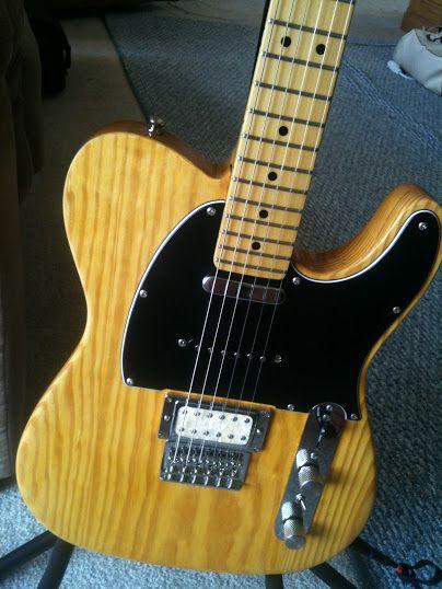 Refinished Fender Modern Player Tele Modern Fender Players