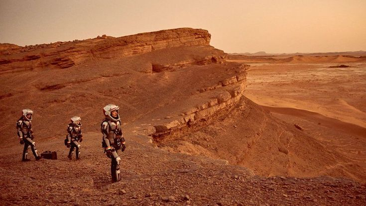"""The new National Geographic Channel docudrama series """"Mars"""" is a work of fiction, but could this be a case of art imitating life?"""