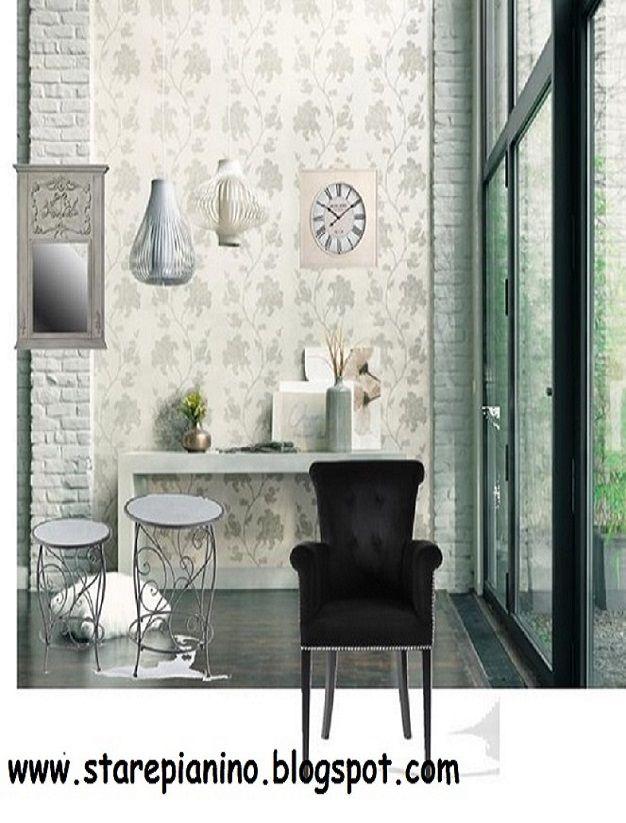 Inspiracje dla pięknego domu: kolaż konkursowy z produktami ze sklepu Decolor.pl; autor: starepianino.blogspot.com