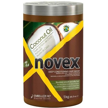 Embelleze Novex Coconut Oil Deep Conditioning Hair Mask 35.3 oz  $9.95 Visit www.BarberSalon.com One stop shopping for Professional Barber Supplies, Salon Supplies, Hair & Wigs, Professional Product. GUARANTEE LOW PRICES!!! #barbersupply #barbersupplies #salonsupply #salonsupplies #beautysupply #beautysupplies #barber #salon #hair #wig #deals #sales #Embelleze #Novex #Coconut #Oil #Deep #Conditioning #Hair #Mask