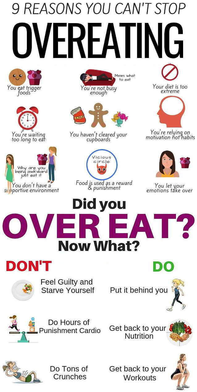 REASONS YOU CAN'T STOP OVEREATING! Regular non controlled overeating episodes …