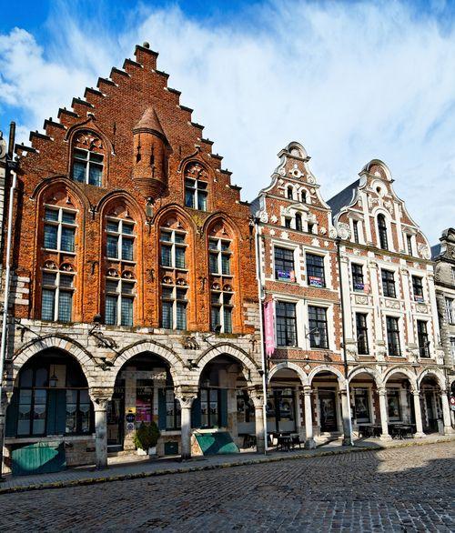 Maisons anciennes à Arras - Pas de Calais (par Vaxjo)