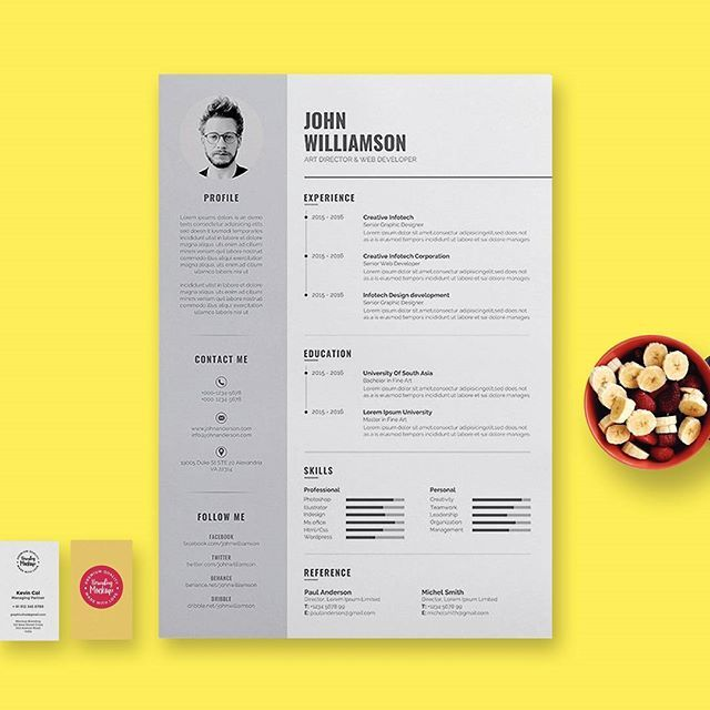 11 best Creative resumes on Instagram images on Pinterest Creative