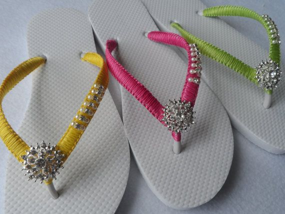 Colores brillantes fracasos de tirón de la boda / novia perlas