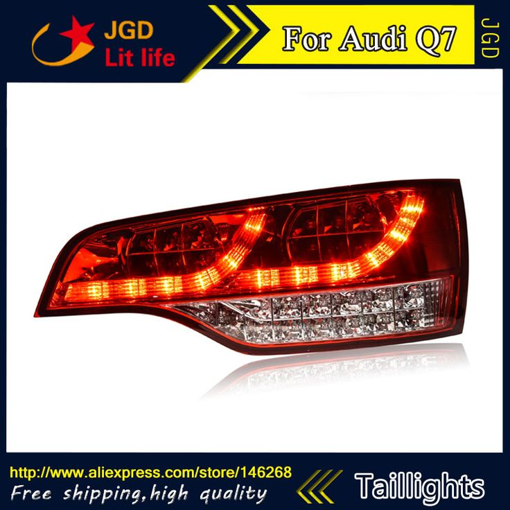==> [Free Shipping] Buy Best Car Styling tail lights for Audi Q7 LED Tail Lamp rear trunk lamp cover drlsignalbrakereverse Online with LOWEST Price   32745097898