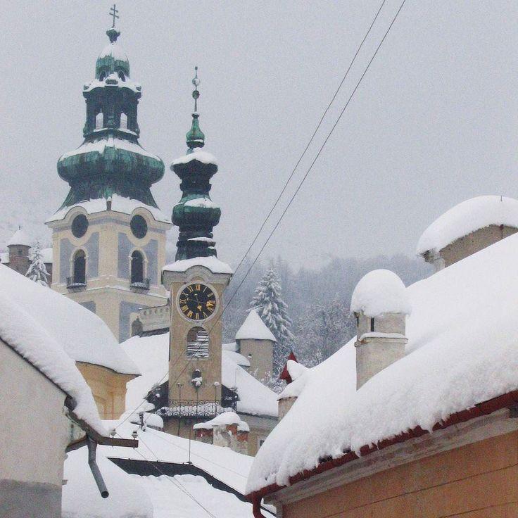 Archívum 38: Selmecbánya 2005. #winterwonderland #slovakia #snow #memories #city #banskastiavnica #latergram