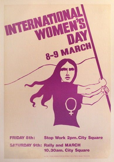 10 Iconic Women's Day Posters