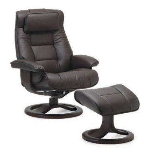 Fjords Mustang Large Leather Recliner and Ottoman - Norwegian Ergonomic Scandinavian Reclining Chair in Nordic Line Genuine Havana Dark Brown Leather Espresso Wood Fjords http://www.amazon.com/dp/B00DT6S51I/ref=cm_sw_r_pi_dp_YibPvb0SB1GAE