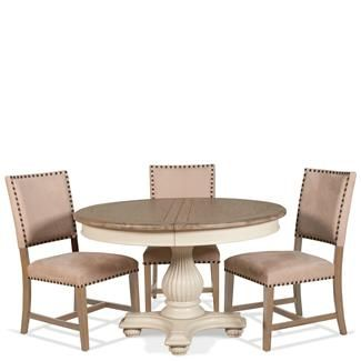 Coventry Round Dining Table I Riverside Furniture