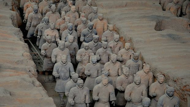 #Cina: l'Esercito di Terracotta