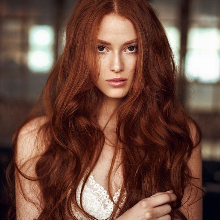 темно медный цвет волос фото оттенки толмачева узнаваем