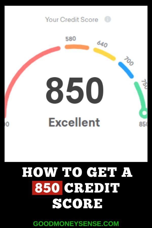 How To Get A Perfect 850 Credit Score For Free In 2020 Credit Score Personal Finance Advice Good Credit