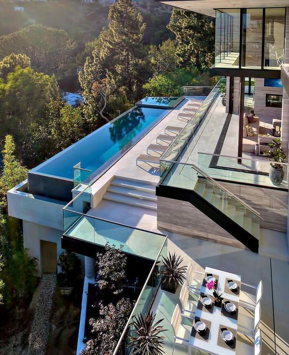 Playful Michigan Pool House: 13 Best Roof Top Pools Images On Pinterest