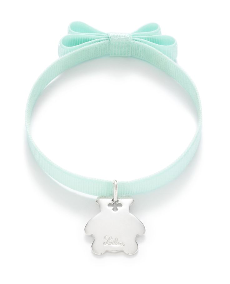 Choose the bear pendant by Lilou to remember your baby's cuddly toy... with a personal engraving! #lilou #bear #remember #toy #engraving