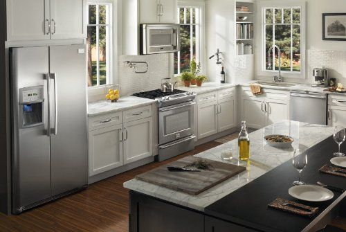 NEW Frigidaire Professional 4 Piece Stainless Steel Appliance Package with Electric Slide In Range