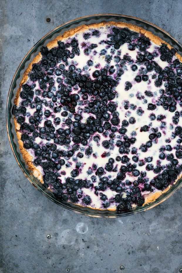 Finnish Blueberry Pie | Sarka Babicka Photography