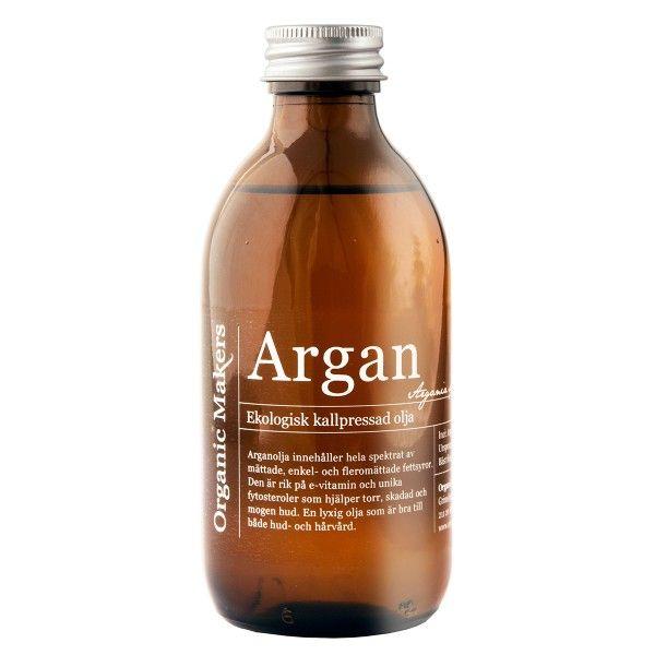 Ekologisk Arganolja - Organic Makers www.organicmakers.se