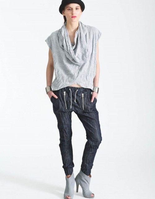 Spodnie II ZIP:  SLIM DENIM
