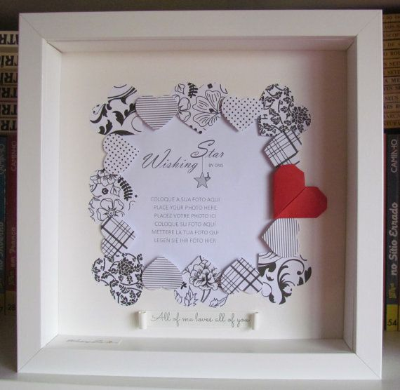 649 best deep box images on pinterest frames handmade gifts and love wedding valentines day gift shadow box frame negle Choice Image