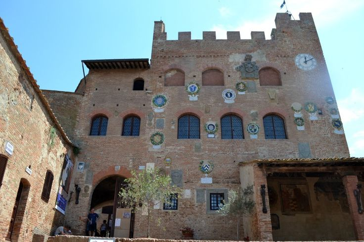 Certaldo Town Hall  is located in the famous Pretorian Palace