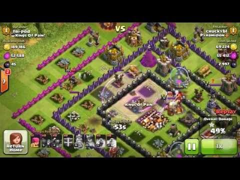 Clash Of Clans - Mass Pekka Attack To The Tune Of History's Most Epic Sp...