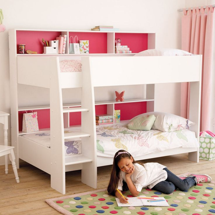Bunkbeds girls bedroom pinterest Bunk beds for girls