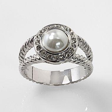 Pearl Ring Jcpenney Women S Jewelry Pinterest